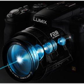 Panasonic Lumix FZ200, kamera superzoom lensa f/2.8konstan